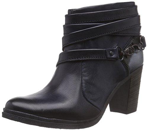 Mjus Damen 580236-0201-0001 Kurzschaft Stiefel, Blau (Carbone+Jeans+Cosmo), 36 EU