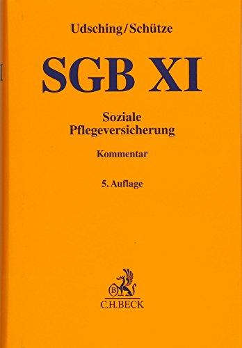 SGB XI: Soziale Pflegeversicherung