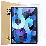 Hianjoo 2 Uds Pantalla Protector Compatible con iPad Air 4 10.9 2020, Compatible con iPad Pro 11 2021/2020/2018, Premium Cristal Tablet Salvapantallas Vidrio Templado 9H Dureza Alta Claridad