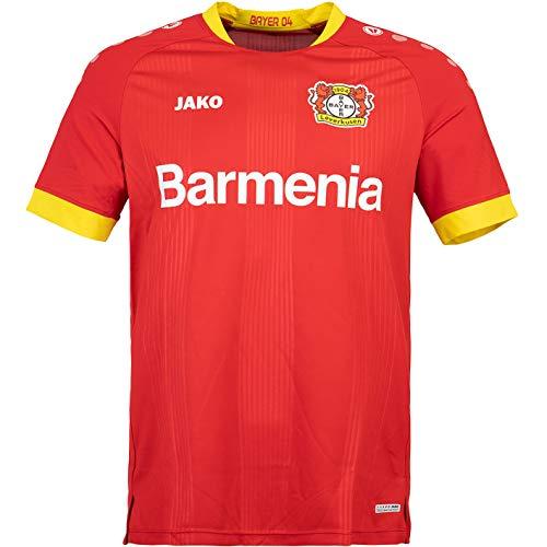 JAKO Bayer 04 Leverkusen Replica Trikot Away 20/21 (XL, Red)