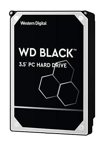 WD Desktop Black 4 TB interne Festplatte SATA, 6Gb/s 128MB interner Speicher (Cache) 8,9cm (3,5 Zoll) 7200rpm interne HDD, RoHS konform, Bulk, WD4004FZWX