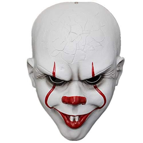 Horrgasd Es, la máscara de Pennywise, el Disfraz de la casa encantada de Halloween Juega la máscara de la Mascarada, la máscara de Resina