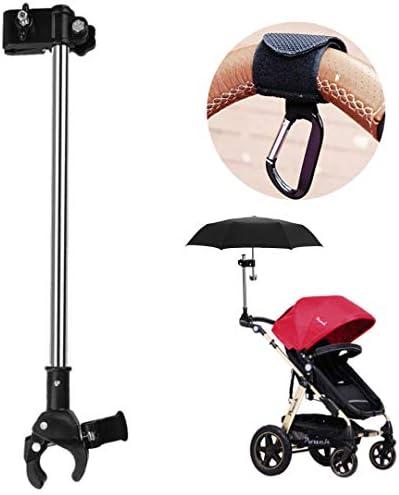 Silly Monkey Umbrella Holder with Bonus Stroller Hook Adjustable Parasol Clamp Mount for Stroller product image