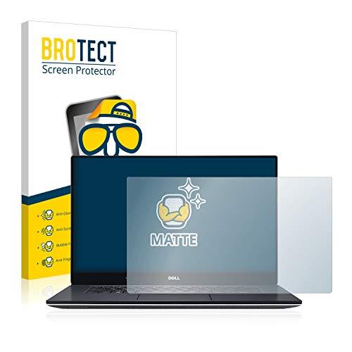 BROTECT Entspiegelungs-Schutzfolie kompatibel mit Dell XPS 15 9560 Bildschirmschutz-Folie Matt, Anti-Reflex, Anti-Fingerprint