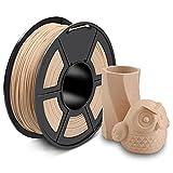 ▷ 【20% relleno de fibra de madera】: El filamento de madera PLA Enotepad de 1,75 mm tiene un 20% de fibra de madera en lugar de polvo de madera. Esto asegura una estructura y textura de madera real. Cumple las expectativas de modelos impresos en mader...
