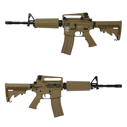 OpTacs Softair - G&G Armament M4 CM16 Carbine - ab 14, Unter 0,5 Joule Desert