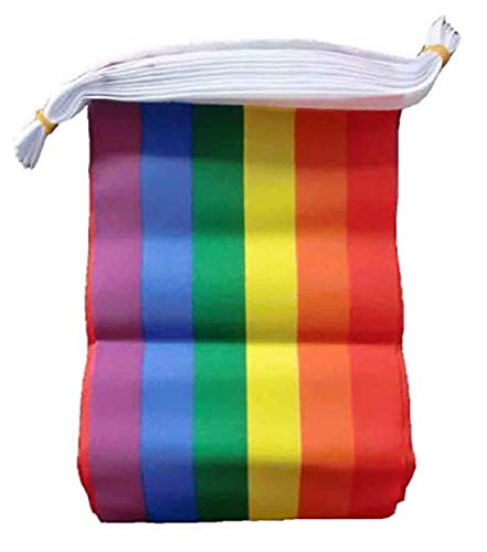Pride Designed 7m Nylon Party Bunting Flags