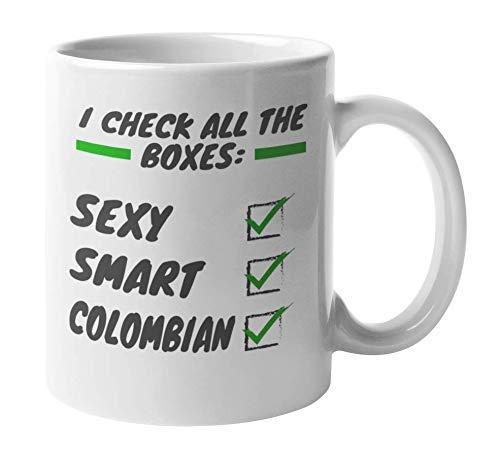 Sexy Colombian Latina & Latino Coffee & Tea Mug o Colombia Souvenir