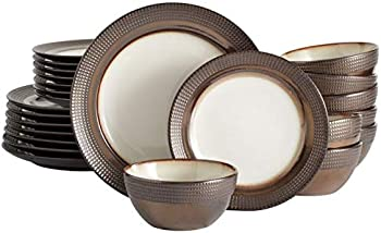 Mikasa Tristan 24 Piece Dinnerware Set, Service for 8