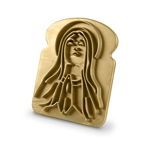 "Fred & Friends ""Holy Toast"" Visionärer Brotstempel Gold"