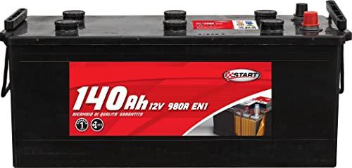 Batería Para Autocarro Y Tractores 140Ah 12V 970A Polo Positivo Izquierdo