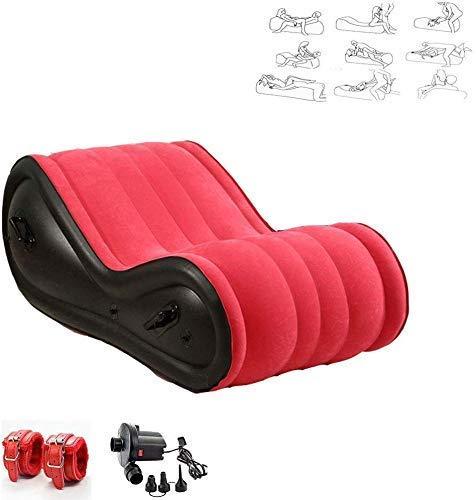 LIKE99 Divano Gonfiabile Multifunzionale Gioco di Ruolo Lettino da Yoga - Cuscino Magico Cuscino per Il Corpo Inclinato Portatile