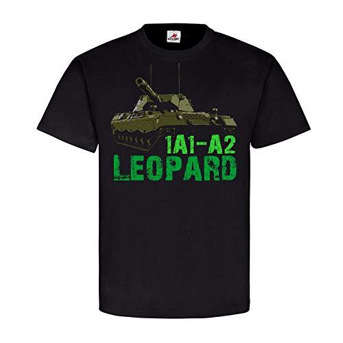 Copytec Leopard 1A1-A2 Panzer Leo Kampfpanzer Bundeswehr Main Battle MBT PzBtl #21999, Farbe:Schwarz, Größe:XL