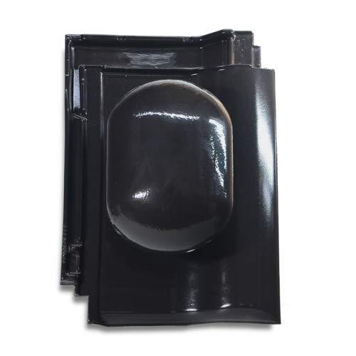 Linie Aktuell - graphit kristall-engobiert Fleck PVC Sanit/ärl/üfter DN 125 f/ür Meyer-Holsen Tandem
