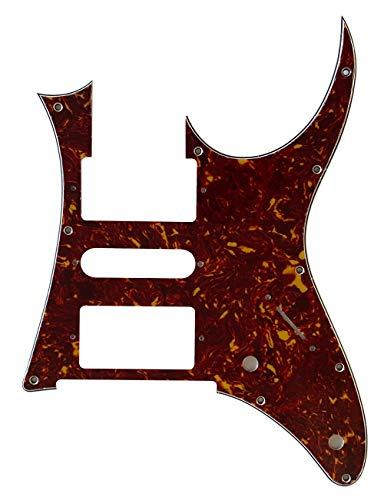 Golpeador de guitarra personalizado para Ibanez RG 350 DX estilo (4 capas de tortuga roja)