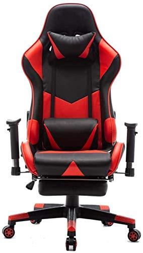 LIUBINGER E-Sports Sedia ergonomica dello Schienale del Sedile Regolazione Altezza Racing Game Chair Office Chair di Lavoro del Computer Gaming 70X70X127CM