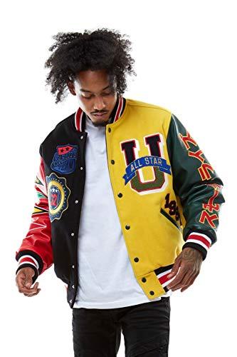 Forward Attire Men/'s Varsity Jacket