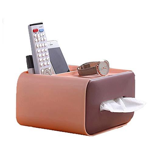 Heigmz zjh - Toallero de papel para guardar pañuelos y pañuelos (color marrón