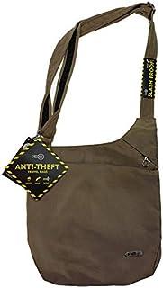 FIB Anti-Theft Slash Proof RFID Large Sling Bag Shoulder Travel - Sand