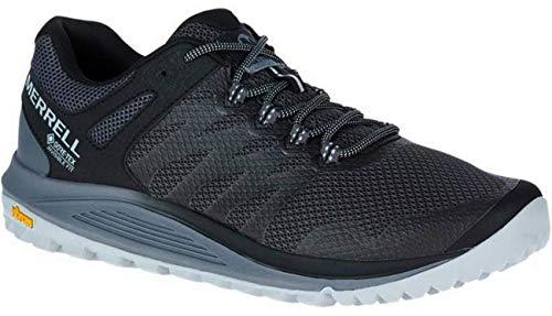 Merrell Nova 2 GTX, Zapatillas para Caminar para Hombre, Negro (Granite), 45 EU