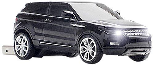 Click Car CCS660981 Range Rover Evoque 8GB USB 2.0 Stick, Black