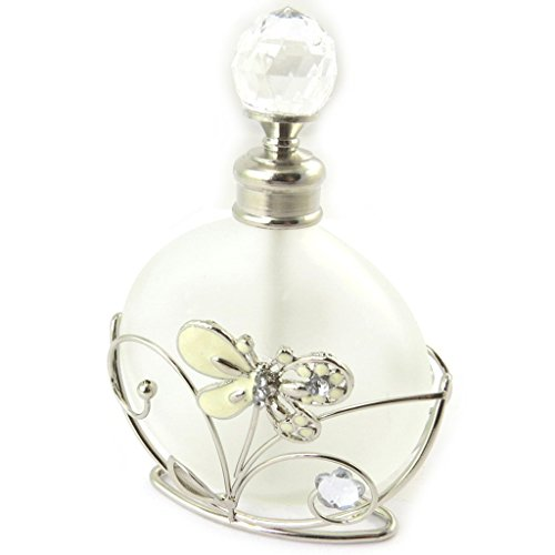 Les Trésors De Lily [N5152] - Parfüm-flasche 'Papillon De Soie' elfenbein.