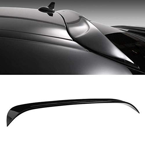 XZJDM Coche Trasero Spoiler, Spoiler De Techo De Ventana Trasera Negra Brillante Ajuste para Mercedes Clay Class C117 CLA45 2013-2019 Auto Accesorios