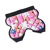 Pantalones cortos de protección de cadera a tope para niños, esponja de culo, equipo protector acolchado para skate, snowboard, patinaje sobre ruedas (rojo)