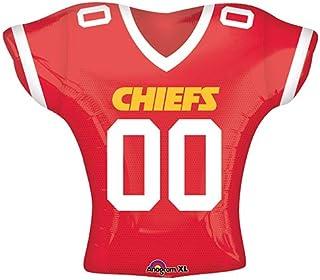 4e148d47def Anagram 26187 NFL Kansas City Chiefs Football Jersey Foil Balloon 24