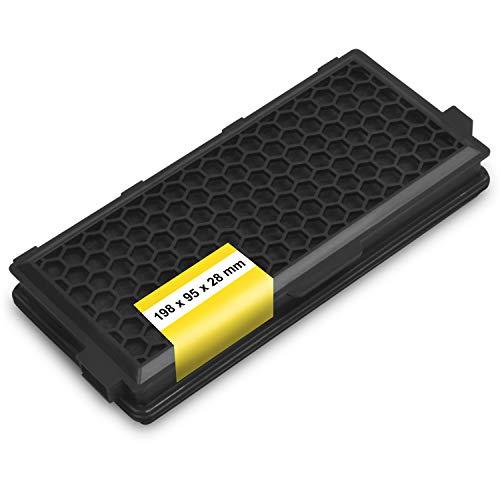 Abluftfilter Kohlefilter Aktivfilter Ersatz für Miele 9616110 AirClean SF-AA50 Motorschutzfilter Geruchsfilter Luftfilter Filter für Staubsauger Ersatzteile