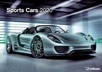 Sports Cars - Kalender 2020 - teNeues-Verlag - Fotokalender - Wandkalender mit schicken Sportwagen und Platz für Eintragungen - 42 cm x 29,7 cm