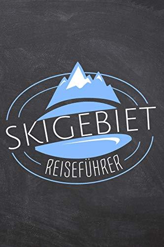 Skigebiet Reiseführer: Schreiben sie Urlaubserlebnisse von Ihrem Skiurlaub in dieses Journal