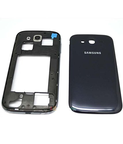Backer The Brand Full Body Housing Panel Faceplate Fascia for Samsung Galaxy Grand i9082 - Black