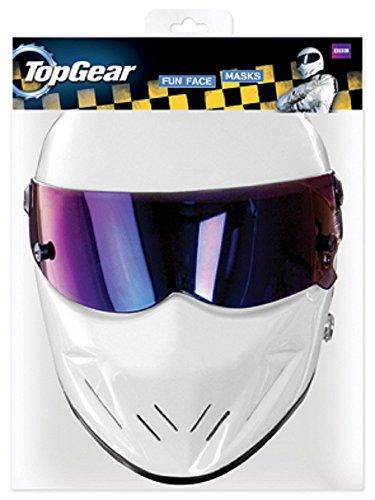 STAR CUTOUTS - Stsmp94 - 6 Masques pour Adulte Stig - Top Gear - Taille Unique
