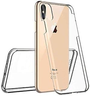 Le Petit Français® - Carcasa 2 en 1 para iPhone XS Max (1*) Delantera (2*) Trasero Doble Protección híbrida Slim Integral ...
