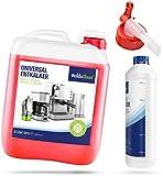 WoldoClean Entkalker für Kaffeevollautomaten 5 Liter Kanister - inklusive Flasche und Auslaufhahn
