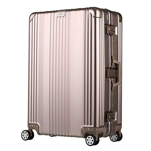 T&S スーツケース レジェンドウォーカー ハードケース メタルフレーム 88L シャンパンゴールド 1510-70(CGD)