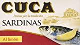 Cuca Sardinas al Limón - 120 gr