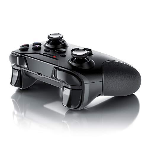 CSL - Wireless Gamepad für PS3 - Controller kabellos mit 2,4 Ghz Dongle - hochwertige Analogsticks - geringe Deadzone – schnelle Reaktionsgschwindigkeit - Gummierung für sicheren Grip