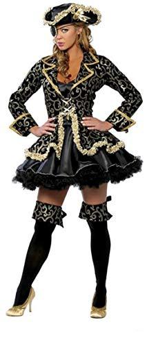 Top Totaal Sexy 2 Stuk Deluxe Piraat Kostuum