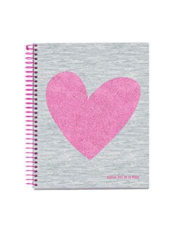 Miquelrius 46143  Cuaderno A6 120 Cuadrícula Love Agatha Ruiz de la Prada