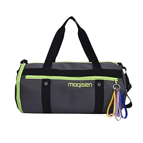 Sporttas voor op reis, dames, Oxford, stof, opvouwbaar, tas van stof, voor schoenen met hoge capaciteit, scheiding voor droog en vocht, yogatas, voor mannen, kleur verpakking