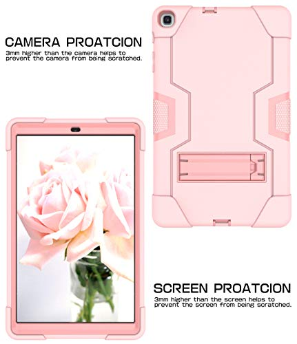 Estuche protector Samsung Galaxy Tab A 10.1 2019, la funda protectora resistente a los golpes 3 en 1…