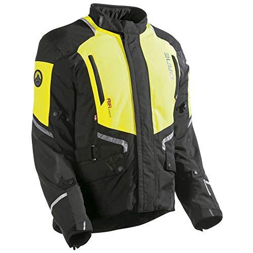 Dane RAGNAR GORE-TEX Motorradjacke Größe 56, Farbe schwarz/signalgelb