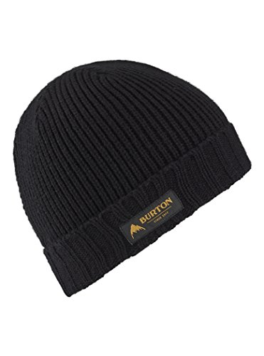 Burton(バートン) スノーボード ニット帽 ボーイズ ビーニー ニットキャップ KIDS' GRINGO BEANIE 2019-20年モデル 1SZ FITALL TRUE BLACK 13429104001