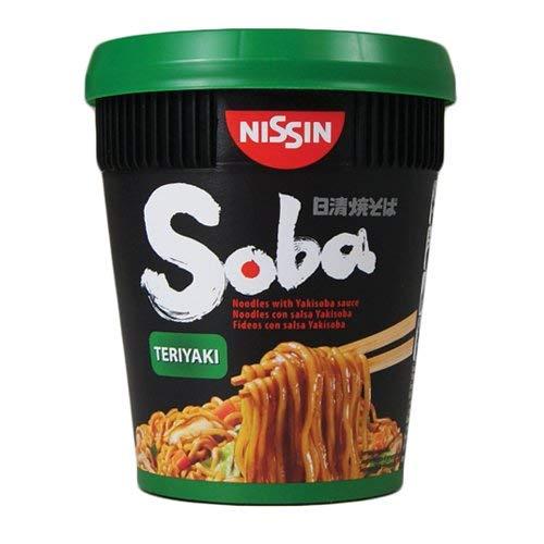 Nissin Soba Teriyaki Smaak Pot Noedels – 8 Kopjes
