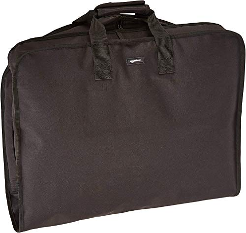 AmazonBasics Travel Hanging Luggage Suit Garment Bag - 22 Inch, Black
