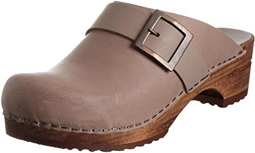 Sanita Damen Urban open Clogs, Grau (grey 20), 40 EU
