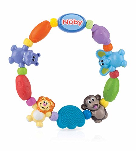 Nûby ID650 Bite and Gripper Chain, Multi-Colour, 3 Months and Above