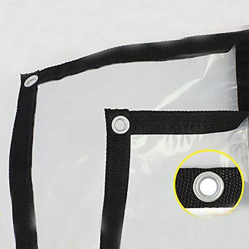 Lhr wasserdichte Schwere Plane Verdicken Klar Tarp for Außenisolierung - Wear & Water Resistant Persenning - Gute Lichtdurchlässigkeit aus Kunststoff Coth (Size : 4×7M)